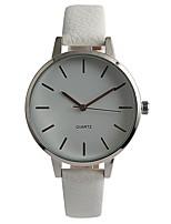 Жен. Модные часы Наручные часы Японский Кварцевый / PU Группа Повседневная Элегантные часы Белый