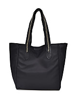 Women Bags All Seasons Nylon Tote Zipper for Casual Outdoor Black