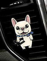 Car Air Outlet Grille Perfume Cute cartoon  Creative  Puppy Automotive Air Purifier