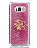 For Case Cover Transparent Pattern DIY Back Cover Case Flower Soft TPU for Samsung Galaxy S8 Plus S8 S7 edge S7