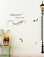 Música Adesivos de Parede Autocolantes de Aviões para Parede Autocolantes de Parede Decorativos Material Decoração para casa Decalque