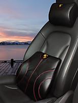 автомобильный Подушки для подголовника и талии Назначение Porsche Все года Все модели Подушечки под спину в авто Кожа