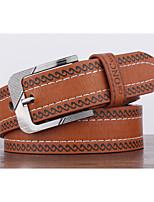 Men's Alloy Waist Belt,Pattern Print Retro