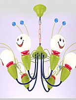Kinder Schlafzimmer Kronleuchter männlichen Mädchen Zimmer Beleuchtung LED Gesicht Cartoon Dekoration speichert Biene kreative Lampen und