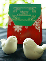 Practical Christmas Party Favors - 2pcs Love Birds Salt and Pepper Shakers in Favor Bag Beter Gifts®Party Supplies