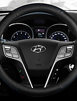 Automotive Steering Wheel Covers(Leather)For Hyundai All years Verna