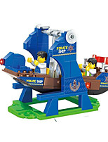 Building Blocks Toys Novelty Ship Pirate Pieces Not Specified Gift