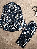 Pyjama Polyester Satin Femme