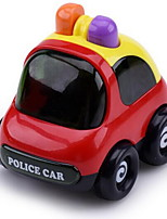 Educational Toy Pull Back Car/Inertia Car Vehicle Pull Back Vehicles Toy Cars Police car Toys Aircraft Car Simulation Not Specified Pieces