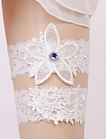 Garter Lace Crystal