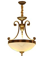 Copper Antique Ceiling Lamp