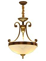 lâmpada de teto antigo de cobre