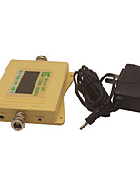Mini Intelligent LCD Display CDMA980 850MHz Mobile Phone Signal Booster Repeater Yellow
