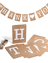 Card Paper Wedding Decorations-1 Piece Wedding Anniversary