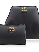 Automobile Kits de coussin de repose-tête et de taille Pour Toyota Toutes les Années Tous les modèles Coussins de Voiture Cuir