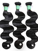 3PCS Lot 8A Brazilian Virgin Hair Body Wave Unprocessed Virgin Brazilian Body Wave Hair Weave Bundles Wholesale Human Hair Weave