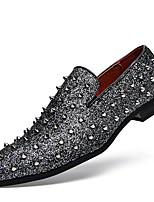 Homme Chaussures PU de microfibre synthétique Printemps Automne Nouveauté Moccasin Chaussures de plongée Mocassins et Chaussons+D6148