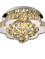 LightMyself 40CM Stepless Dimming Modern Crystal Ceiling Lamp Indoors Lights for Living Room Bedroom Dining Room