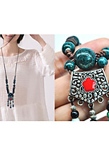 Women's Pendant Necklaces Crown Alloy Natural Fashion Jewelry For Gift Daily