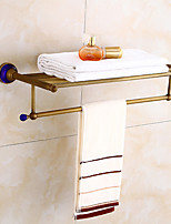 Antique bathroom towel rack bath towel rack European style retro towel stand