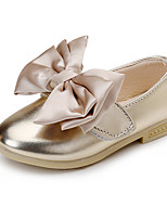 Girls' Shoes Synthetic Summer Fall Moccasin Comfort Flower Girl Shoes Loafers & Slip-Ons Bowknot Hook & Loop For Party & Evening Dress
