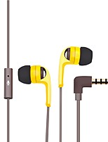P152A In Ear Wired Headphones Hybrid Plastic Mobile Phone Earphone Mini Headset