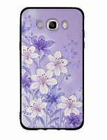 For Case Cover Pattern Back Cover Case Flower Soft TPU for Samsung Galaxy J7 (2016) J7 (2017) J7 V J7 Perx J7 J5 (2016) J5 (2017) J5 J3