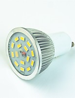 3W LED Spotlight 15 SMD 5730 400 lm Warm White Cold White 3000-7000 K Decorative AC220 V 1 pcs