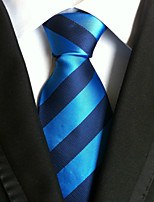 Men's Polyster Neck Tie,Striped Pattern Striped All Seasons