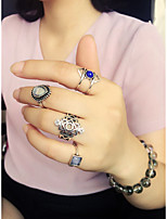 Women's Personalized Fashion Gift Daily Alloy Crown Ring