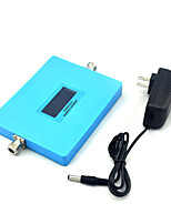 Intelligent Display CDMA 850mhz DCS 1800mhz Mobile Phone Signal Booster 800mhz Signal Repeater with Power Supply / Blue / Mini / Dual Band