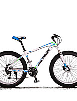 Mountain Bike Cycling 27 Speed 26 Inch/700CC SHIMANO M370 Disc Brake Suspension Fork Aluminium Alloy Frame Ordinary/Standard Anti-slip