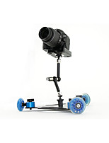 ASJ SLR Camera Video Rail Car Mini Desktop Silent Pulley Drift Three Wheel Car