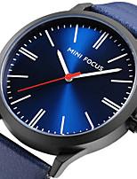 Herrn Sportuhr Modeuhr Armbanduhr Einzigartige kreative Uhr Armbanduhren für den Alltag Japanisch Quartz Echtes Leder Band Bettelarmband