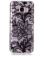 caso para samsung galaxy s8 plus s8 caixa de telefone tpu material rosas padrão hd caixa de telefone s7 edge s7 s6 edge s6 s5