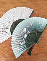 Ventilatori e ombrelloni-1 Pezzo / Imposta Ventagli Spiaggia Giardino Farfalle Classico Rustico Tema Matrimonio Vintage Theme Nappa