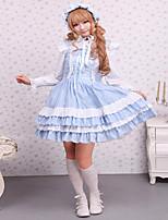 Un Pezzo/Vestiti Gotico Dolce Lolita Classica e Tradizionale Punk Ispirazione Vintage Elegant Vittoriano Rococò Da principessa Cosplay