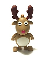 8gb christmas usb flash drive cartoon christmas deer christmas gift usb 2.0