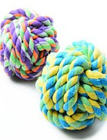 Dog Toy Pet Toys Chew Toy Rope Elastic Nylon Cotton