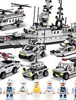 Набор для творчества Конструкторы Катер Авианосец Игрушки Военные корабли Боец Море Армия Своими руками Классика Взрослые Куски