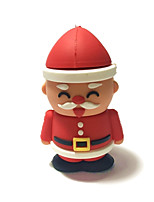 2GB Christmas USB Flash Drive Cartoon Creative Santa Claus Christmas Gift USB 2.0