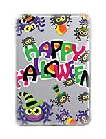 preiswerte -Für iPad (2017) iPad 10.5 iPad Pro 12.9 '' Hüllen Cover Transparent Muster Rückseitenabdeckung Hülle Halloween Weich TPU für Apple IPad