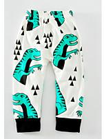 Pantaloni Da ragazzo Cotone Stampa animalier Cartoni animati Primavera Autunno