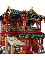 Building Blocks Toys Famous buildings Chinese Architecture Architecture Pieces Unisex Gift