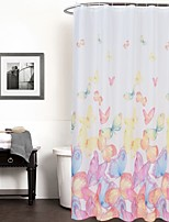 Cute 100% Polyester with High Quality Shower Curtains