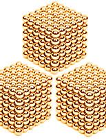 Kit de Bricolage Jouets Aimantés Super Aimants Boules magnétiques Soulage le Stress 3 Pièces 3mm Jouets Soulagement de stress et