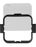 Ensemble de kit de protection de filtre d'objectif carré (nd2 / nd4 / nd8 / nd16) pour gopro hero4 session w / support de cadre de montage