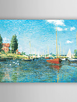 Hand-Painted Landscape Horizontal,New Arrival One Panel Canvas Oil Painting For Home Decoration