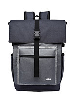Men Bags All Seasons Oxford Cloth Backpack Zipper for Professioanl Use Office & Career Gray