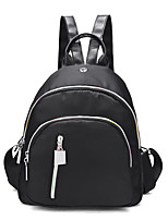 Women Bags All Seasons Oxford Cloth Backpack for Casual Office & Career Black